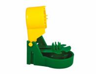 Past na myši plastová zeleno žlutá
