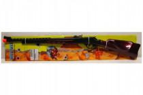 Puška/pistole kapslovka kovbojská plast 84cm