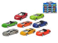 Auto sportovní kov 7,5 cm 1:64 - mix variant či barev