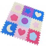 Pěnové puzzle tvary 9 ks