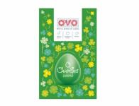Set na vajíčka OVO SET barva, obtisky a košilky zelená