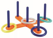 Házení kroužků - kříž (4 kroužky)