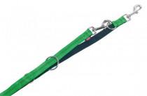 Vodítko nylon soft Grip přep. - sv. zelené Nobby 1,5 x 200 cm
