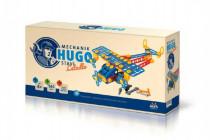 Mechanik Hugo staví Letadlo Seva stavebnice s nářadím 144ks plast