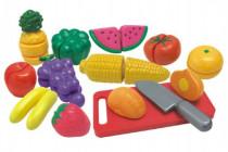 Krájecí ovoce a zelenina s nádobím plast