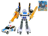 Auto/robot policejní 21 cm