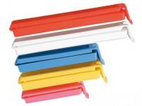 klip na sáčky plastový, sada 5díl. - mix barev