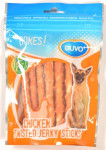 Duvo+ dog Bones! Twist.chicken jerky sticks 360g