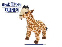 Žirafa plyš 34cm stojící v sáčku 0m+