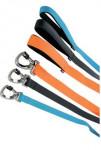 Vodítko pes SILICONE oranžová 25mm/1,2m Zolux