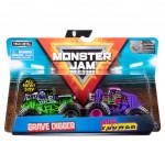 Monster jam sběratelská auta dvojbalení 1:64 - mix variant či barev