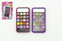 Sada na líčení šminky plast na kartě - mix barev