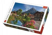 Puzzle Alpy v létě 2000 dílků 96x68cm