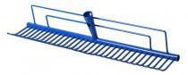 Hrábě trávníkové - šířka 60 cm - modrá