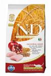 N&D Low Grain Cat Neutered Chicken & Pomegranate 1,5 kg