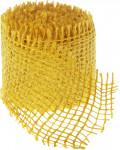 Jutová stuha 4 cm x 3 m - žlutá