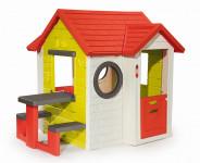 Domeček My House s piknikovým stolem