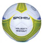 Spokey Velocity Shinout fotbalový míč bílo-žlutý č. 5