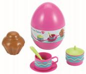 Vajíčko s jídelním setem - mix variant či barev