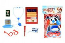 Sada doktor/lékař s doplňky plast v sáčku