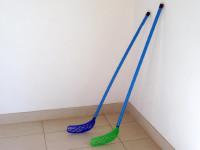Floorball hokejka plast - mix barev