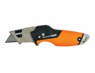 Nůž FISKARS CARBOMAX univerzální skládací 19cm 1027224