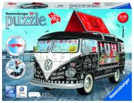 Ravensburger VW autobus motiv 2; 3D, 162 dílků