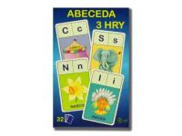 Abeceda/Hledej/Písmena 3 v1 7x10,5x1,5 cm 32 ks