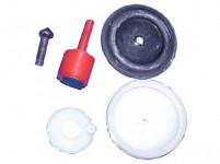těsnění WC nap. ventil VN01 gum./ plastové (6ks)