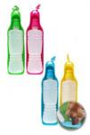 Miska/lahev 2 v 1 na vodu pro psy 450ml