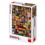 Puzzle 2000 dílků: Filmové plakáty
