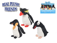 Tučňák plyšový 17 cm - mix variant či barev