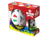 Fotbalové kužely 18 cm 4 ks s míčem 23 cm + mety 4 ks