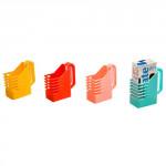 držák na krabicové nápoje prolis plastový - mix barev