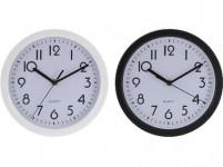 hodiny nástěnné pr.22,6cm PH BÍ, ČER - mix variant či barev