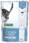 Nature's Protection Cat kaps. Kitten Chicken&Rabbit 100g
