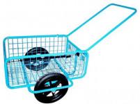 vozík RAPID IV, sklád., duše+plášť, komaxit,450x640x280(1320) mm