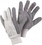 Rukavice textilní s eurozávěsem - Gabo vel. 10