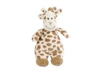 Žirafa plyšová 22 cm s chrastítkem