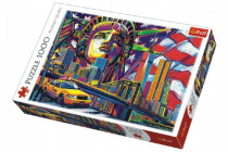 Puzzle Barvy New Yorku 1000 dílků 68x48cm