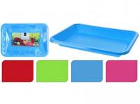 tácek 29x21x3,5cm PH (4ks) jednorázový - mix barev