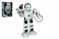 Robot RC FOBOS interaktivní chodící plast 40cm na baterie s USB CZ design