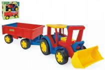 Traktor Gigant nakladač s vlečkou plast 102cm Wader