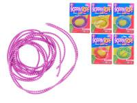 Skákající pružné lano 300 cm - mix barev