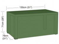 plachta krycí na obdélníkový 4-6místný stůl 130x79x71cm, PE 90g/m2