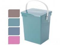 box s odklápěcím víkem 5,5l, 23,5x18x26,5cm plastový - mix barev