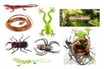 Zvířátka plazi/hmyz plast