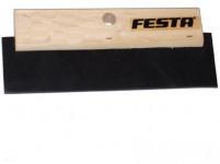 stěrka 280mm dřevěná rukojeť, tvrzená guma