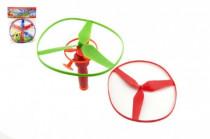 Vystřelovací vrtulky 3 ks + startér plast