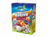 Hnojivo AGRO organo-minerální na cibuli a česnek 1kg